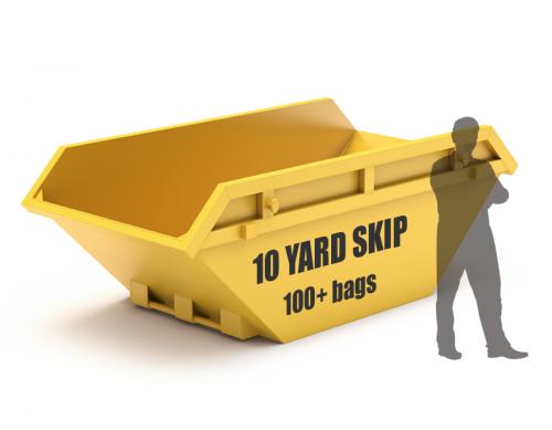 10 yard skip size