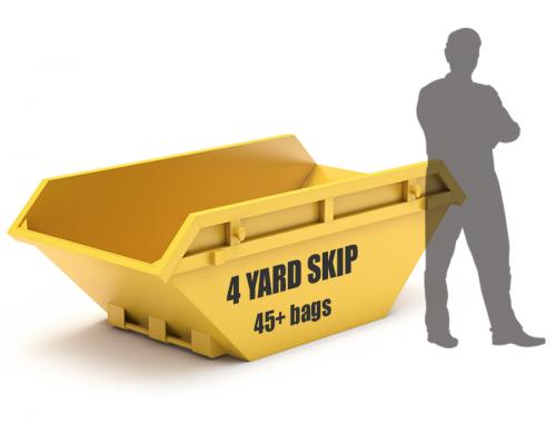 4 yard skip size